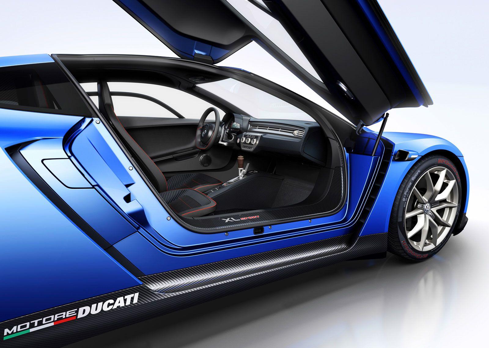 Volkswagen Xl Sport Concept Volkswagen Supercars Pinterest