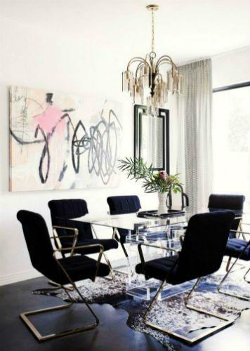 Des chaises pour salle à manger contemporaine - decoration salle a manger contemporaine