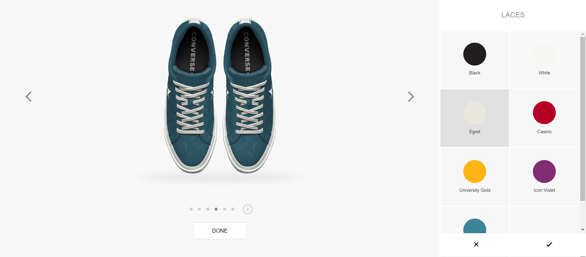 2da79dbe73b2 Converse website where you can personalized the products  Web  Digital   Personalization  Fashion  Shoes