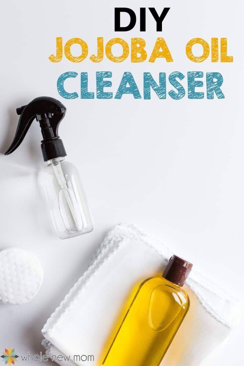 Jojoba Oil Face Cleanser for Natural Beauty #jojobaoil
