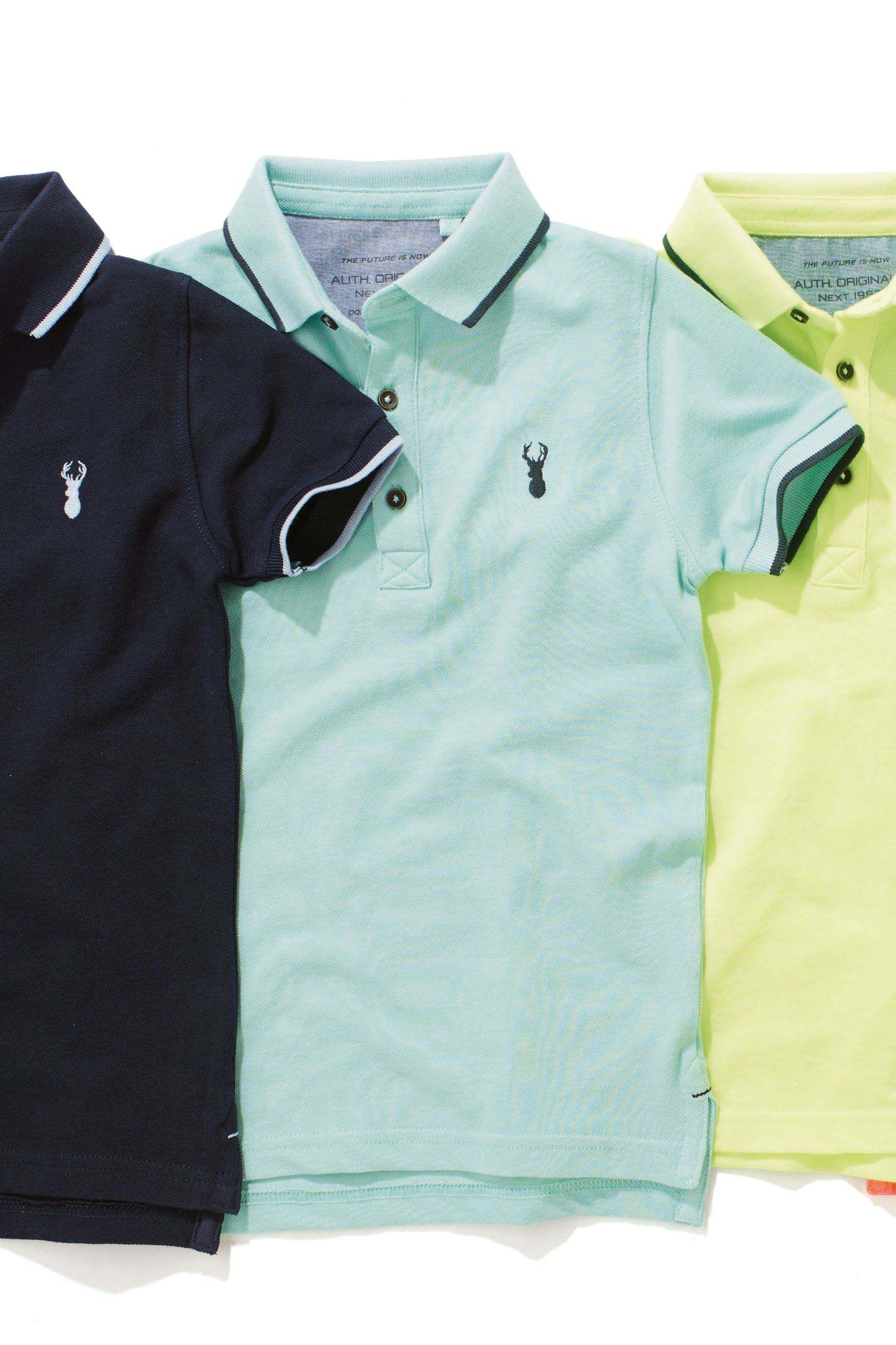 bf279f515b Boys Next Mint Polo T-Shirt (3-16yrs) - Green | Denim | Mens tops ...