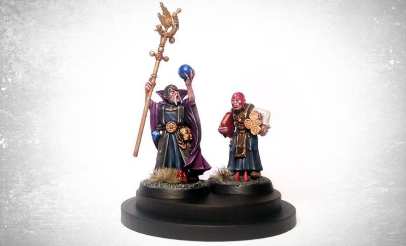 Age Of Sigmar, Empire, Freeguild, Warhammer Fantasy, Wizard
