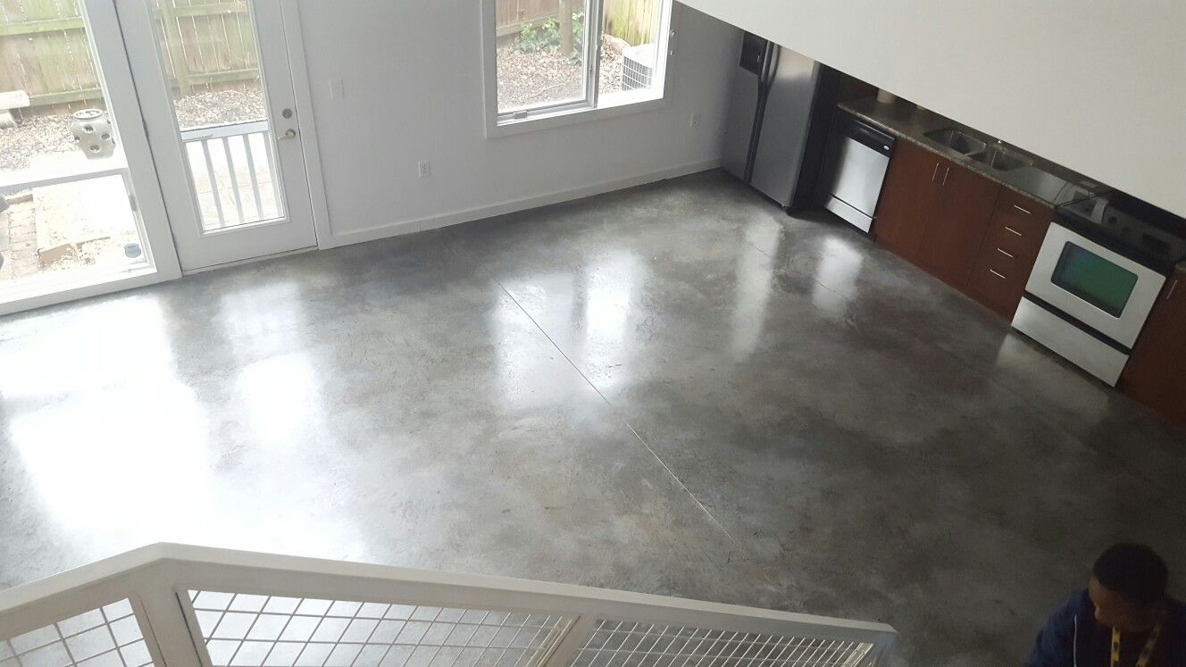 Sealed Concrete Floors Vs Polished Concrete You Can T Tell The