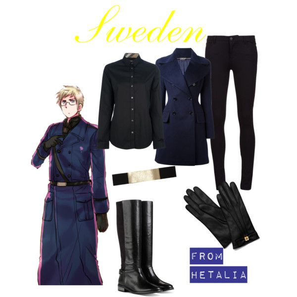 """Hetalia - Sweden"" by anime-couture on Polyvore"