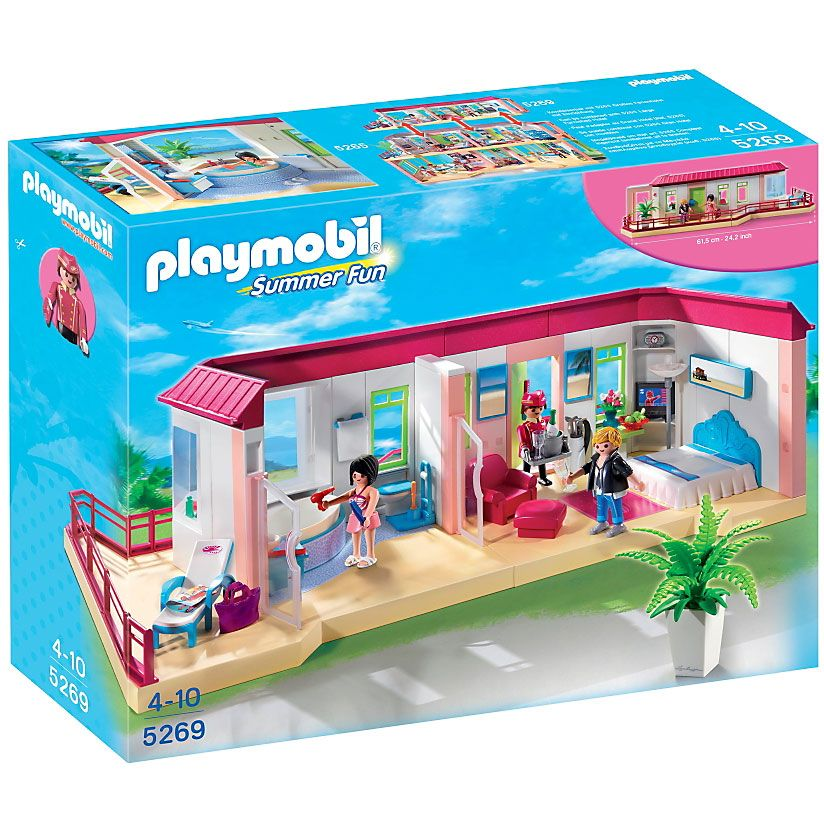 Playmobil Summer Fun Bungalow, 5269, klocki   Delfinki ...