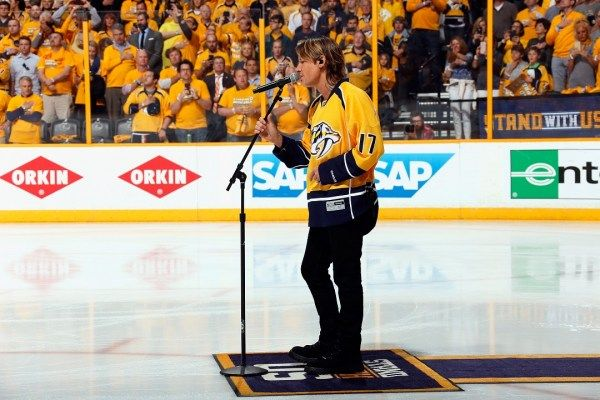 Urban: Singing Anthem for Preds Was 'One of the Proudest Moments, Ever'