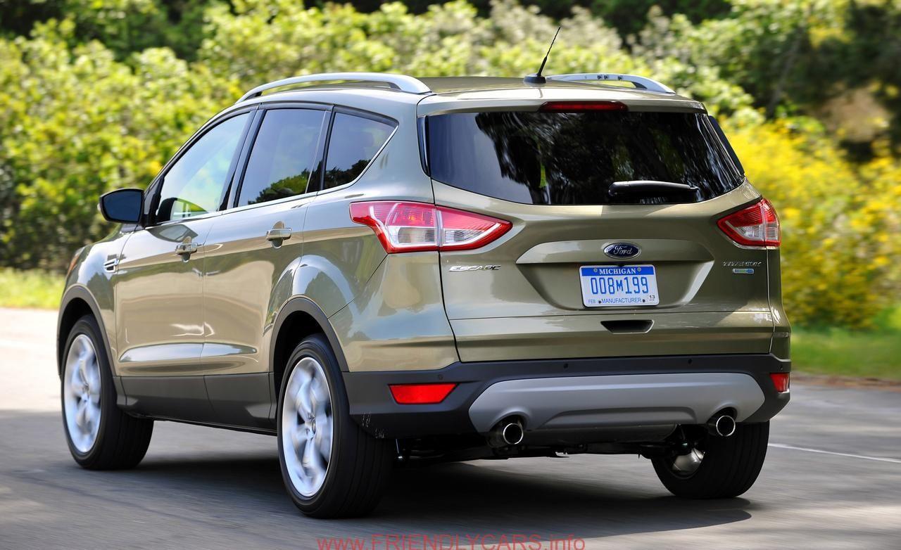 Cool Ford Escape 2014 Titanium Interior Car Images Hd The Latest