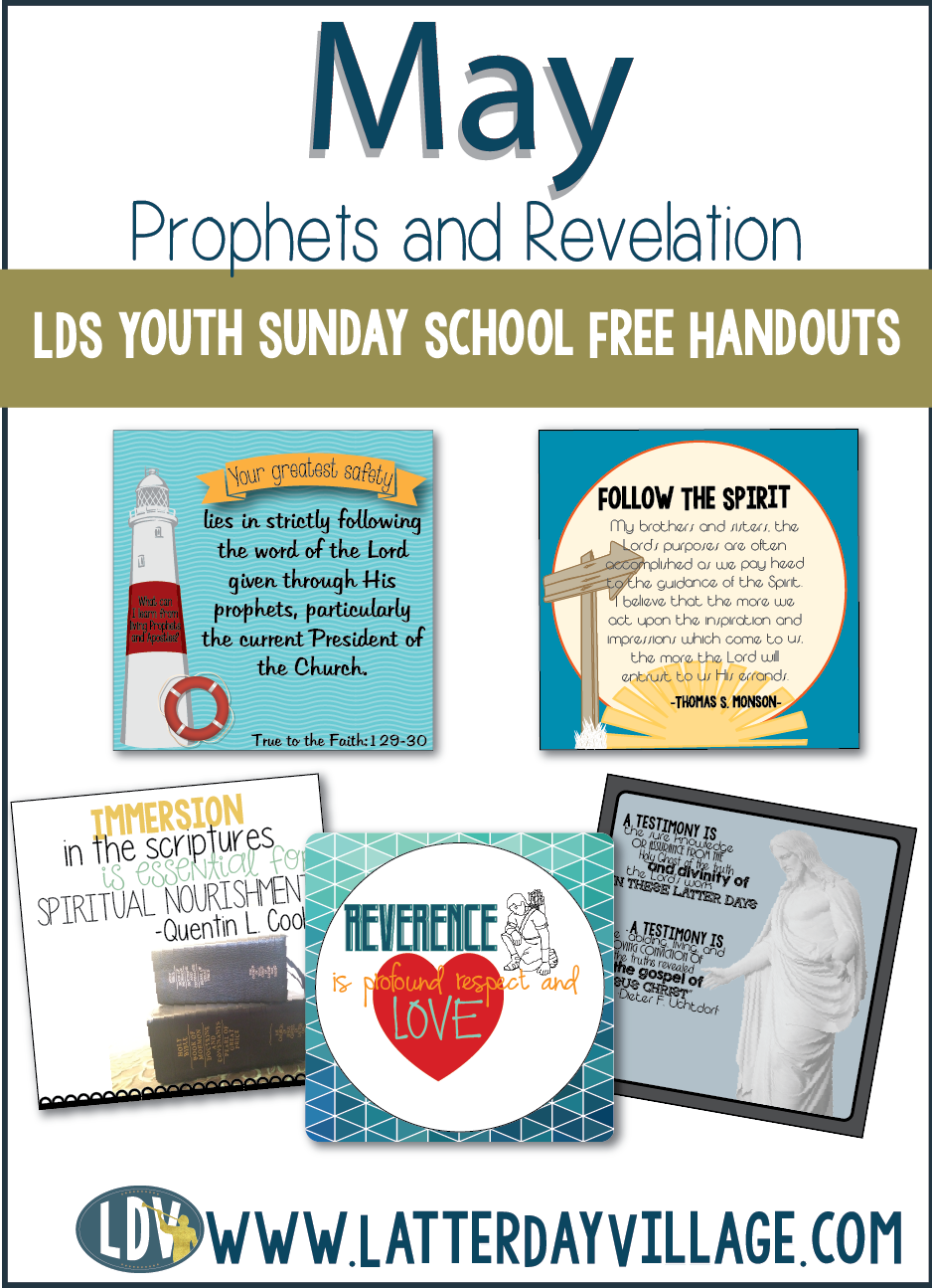 We are now offering our Youth Sunday School handouts for FREE each ...