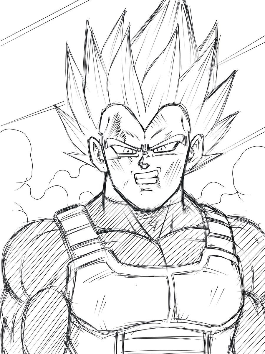 Dragon Ball Z Coloring Pages Vegeta Az Coloring Pages Dibujos