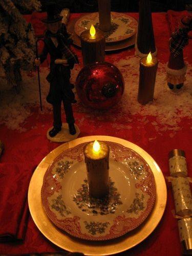 Dickens Christmas Table | Dickens christmas carol, Charles dickens christmas, Victorian christmas