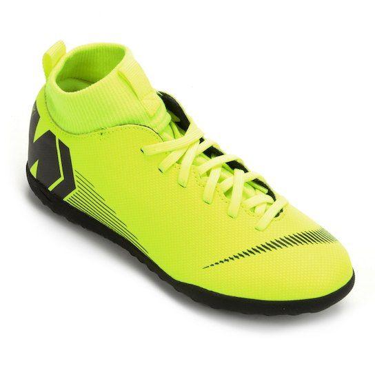 5191a5be89b Chuteira Society Infantil Nike Mercurial Superfly 6 Club - Amarelo e ...