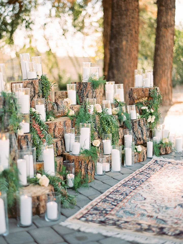 Hues to Use: Forest Green Wedding Inspiration