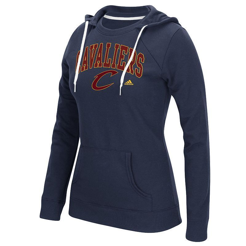 sale retailer 4391d 54c23 Women s Adidas Cleveland Cavaliers Outline Big Arch Hoodie, Size  Equipo Oklahoma  City Thunder,
