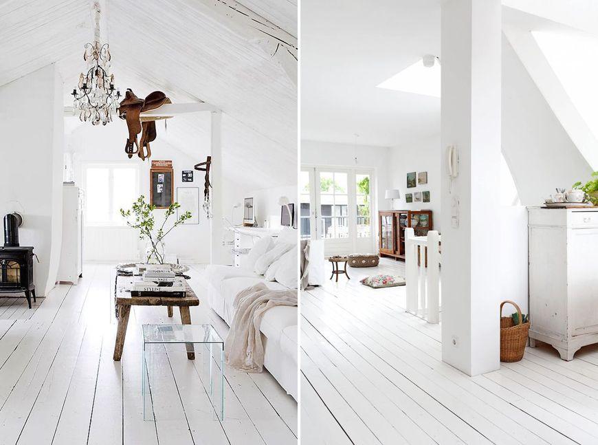 Apprivoiser La Lumire Naturelle Peindre Son Parquet En Blanc