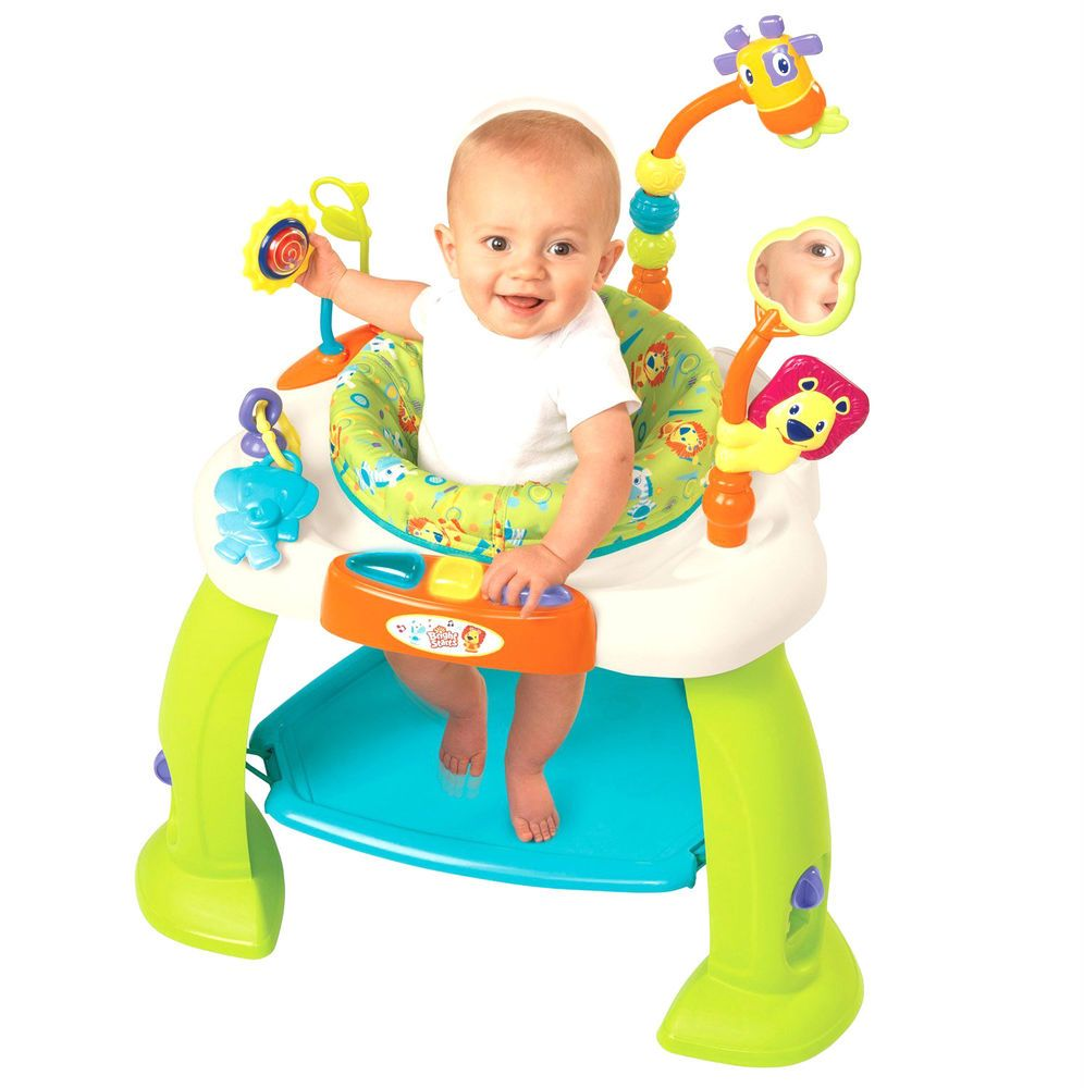 baby jumper activity station bounce toy exerciser rotating seat  - baby jumper activity station bounce toy exerciser rotating seat feettoddler new unbranded