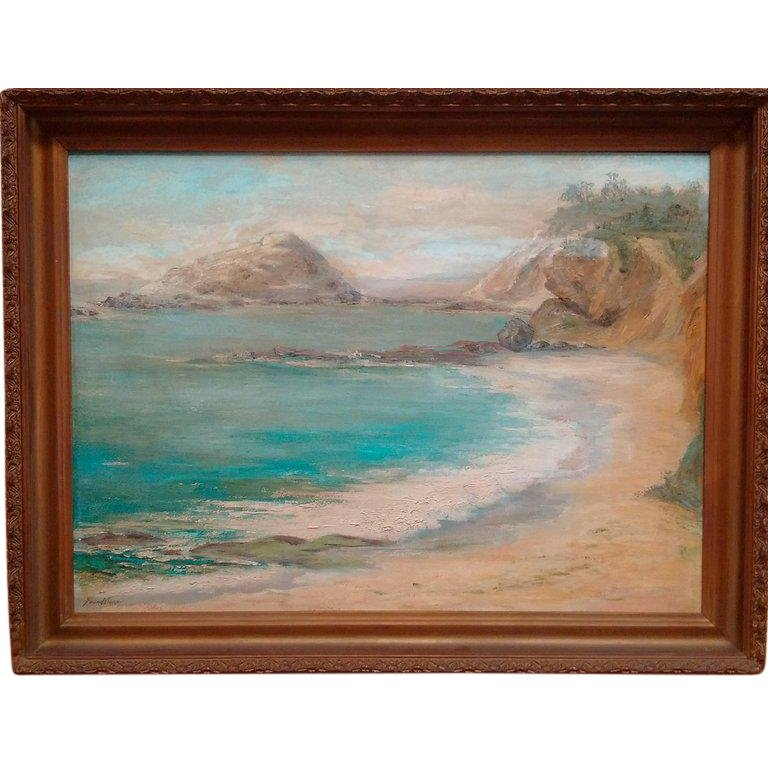 Treasure Island Laguna Beach: Treasure Island, Laguna Beach Painting