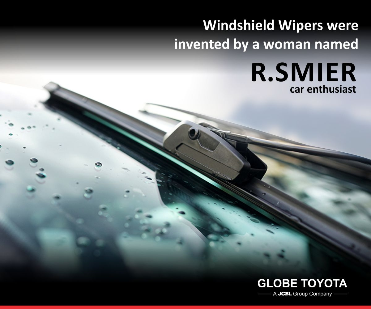 DidYouKnow: Who invented windshield #wipers? | Globe Toyota ...