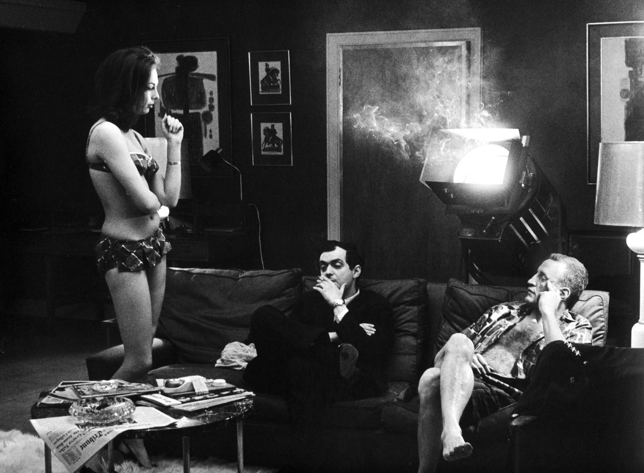best images about dr strangelove l wren scott kubrick george c scott on the set of dr strangelove or
