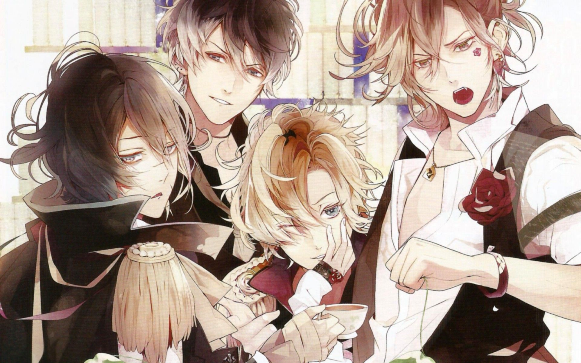 diabolik lovers season 2 Diabolik Lovers Haunted dark