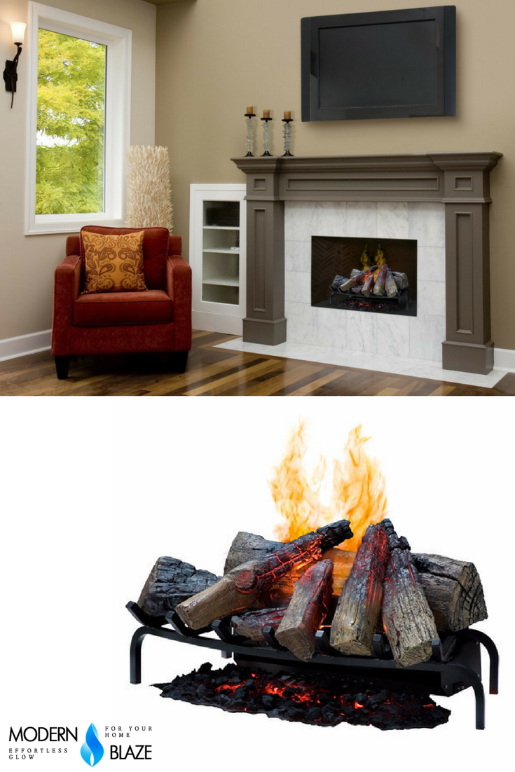 Dimplex Dlgm29 Vapor Fireplace Insert Features An Appearance So Authentic It Could Be Mistaken For A Traditional Wood Burning Firepl Fireplace Fireplace Inserts
