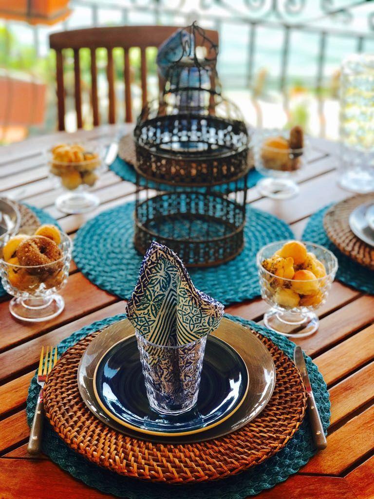Tavola estiva in terrazza - Fotogallery Donnaclick