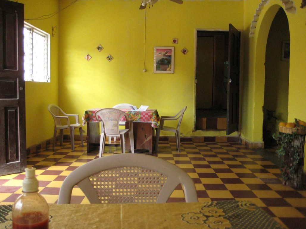 fancy sharp indian yellow dining room | house things | Pinterest ...