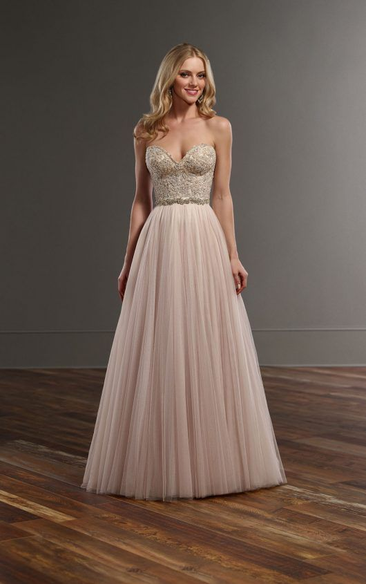 b4c9cd56d6 Cayla + Scout Beaded corset tulle skirt wedding separates by Martina Liana  Wedding Dresses