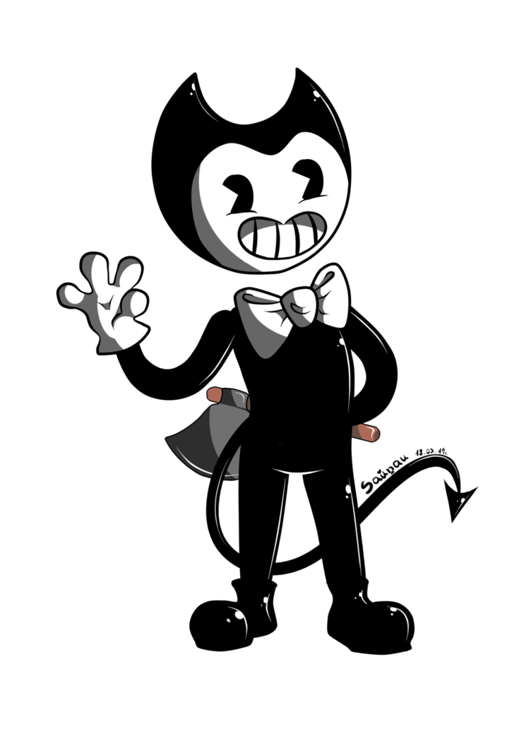 FanArt - Bendy and the INK Machine by Lantada | Bendy ...