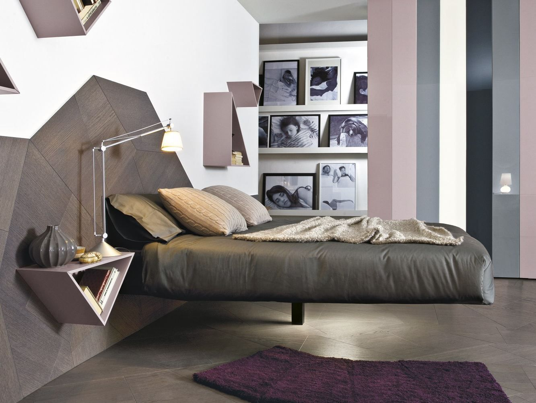 Magnetic floating beds letto matrimoniale fluttua by lago  design daniele lago  home