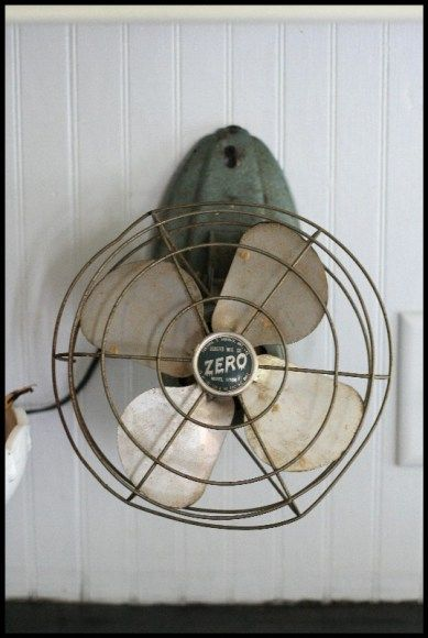 Decorative Wall Mounted Fans vintage wall-mounted fan. i want one! | living beautifully