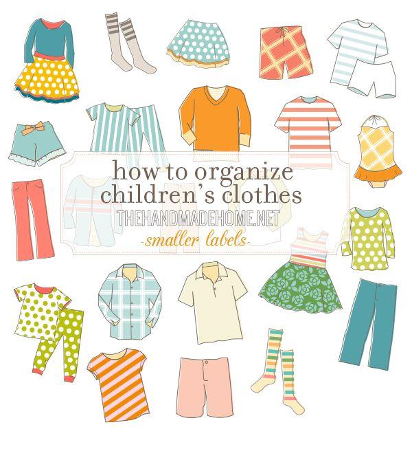 how to organize children\u0027s clothes Lily\u0027s Room Pinterest Kids
