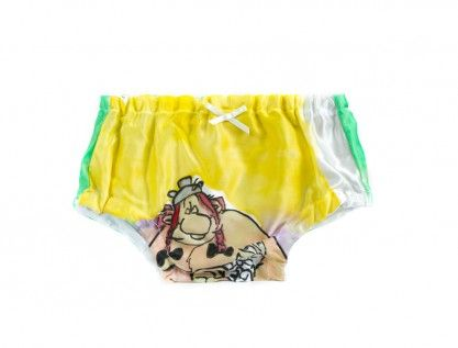 Dolly design svilene gaćice/ silk baby pants hand painted | OMNIS ART - handmade