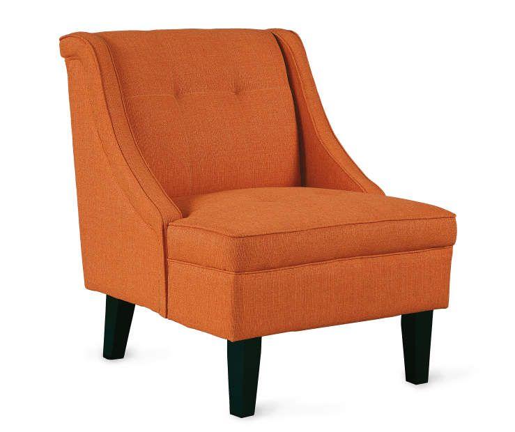 Brilliant I Found A Clarinda Orange Accent Chair At Big Lots For Less Squirreltailoven Fun Painted Chair Ideas Images Squirreltailovenorg