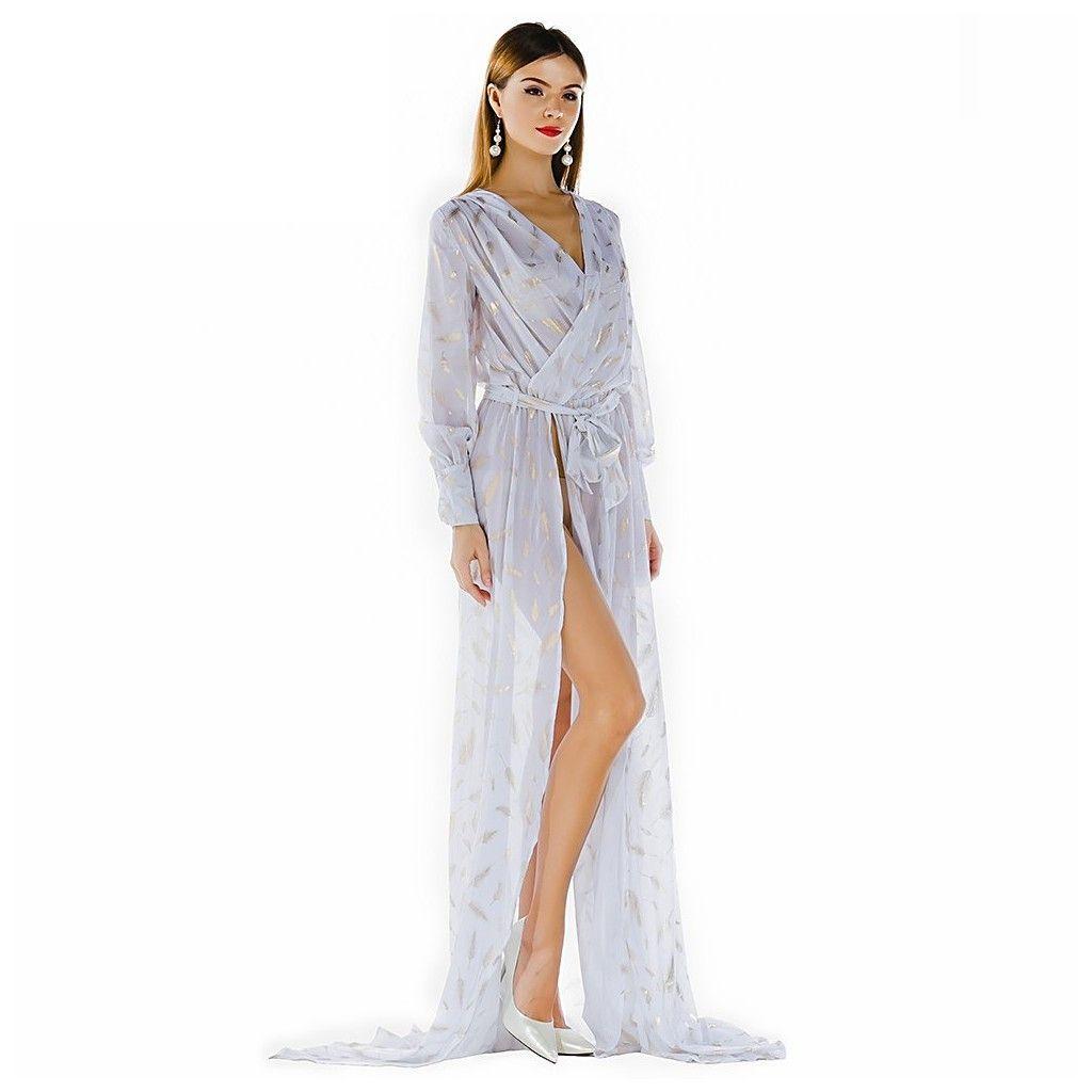 In style magazine maxi dress