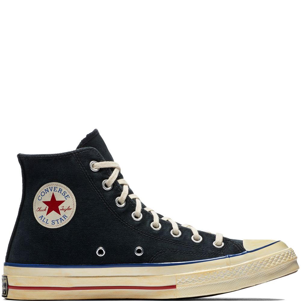 2bf22a2019d0 Chuck Taylor All Star  70 Vintage  36 Canvas Black Blue Red black blue red