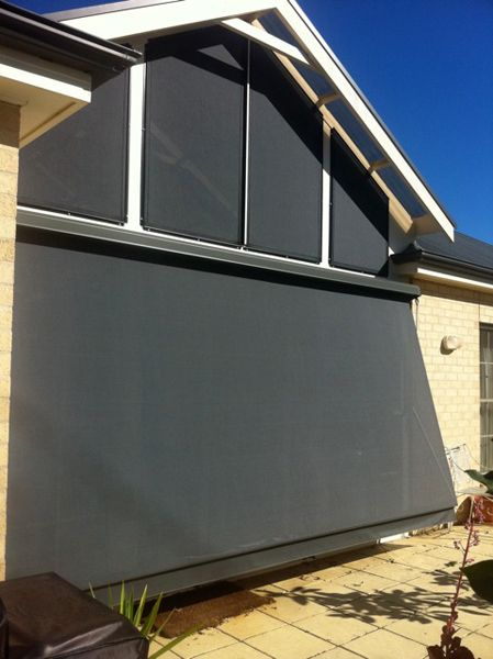Awnings - not sure if I like the look of this but it would ...