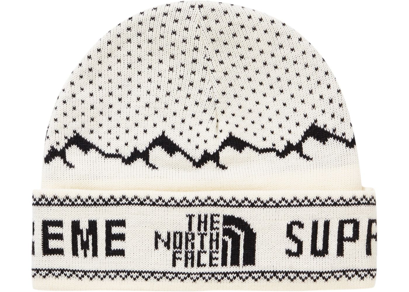 30987b72e7883 Check out the Supreme The North Face Fold Beanie White available on StockX