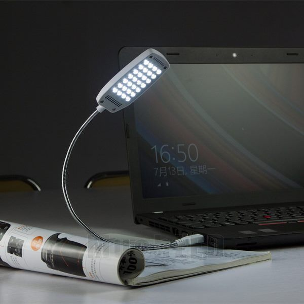 Flexible Mini Bright 28 Led Usb Light For Computer Lamp
