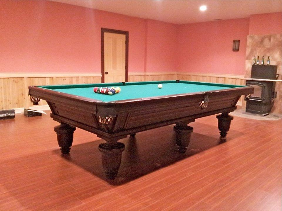 Golden West 5 X 10 6 Leg Russian Pyramid Union League Pool Table Russian Pyramid Tables Use 2 3 4 Oversize Balls W Billiard Tables Snooker Table Billiards