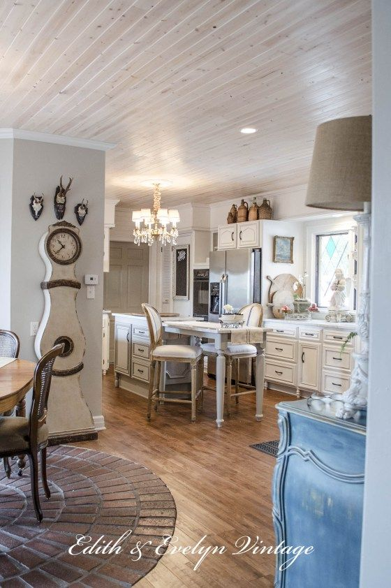 Transformation Of A French Country Kitchen French