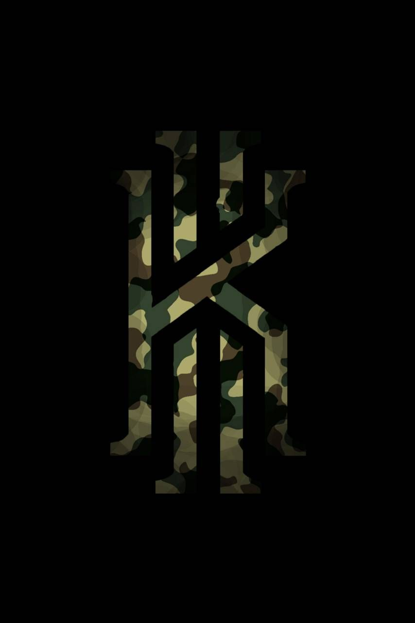 Kyrie Military Logo Nba Wallpapers Kyrie Irving Logo Wallpaper Irving Wallpapers