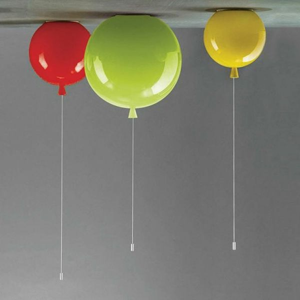 bunte lampen f r kinderzimmer wie ballons aussehen. Black Bedroom Furniture Sets. Home Design Ideas