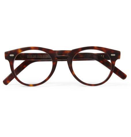 Cutler and Gross - Round-Frame Matte-Acetate Optical Glasses MR PORTER