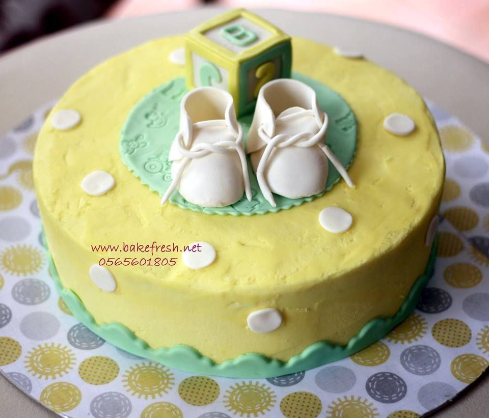 A Gender Neutral Baby Shower Cake In Pastel Colors Chocolate Heaven Cake Recipes Cake Cupcake Cakes