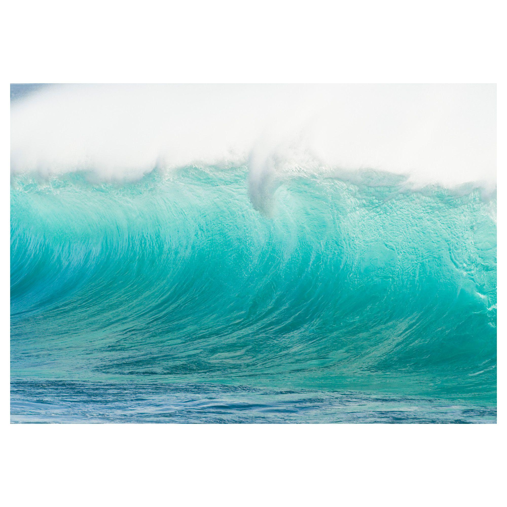 ikea premiar motif waves hawaii by mark a johnson 149