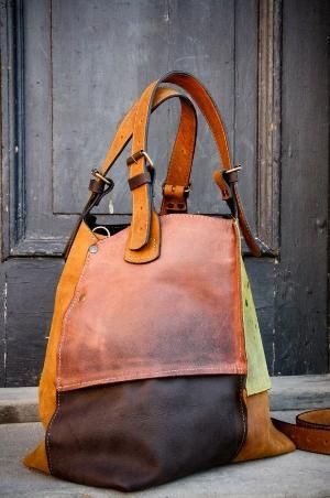 Oversized Bolsa ladybuq artesanais bolsas de couro bolsa de saco de convas sacola bolsa suíça na Etsy, $ 230,00 por rae