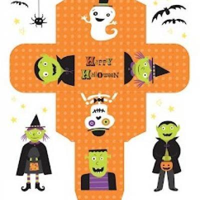 Printable Halloween Gift Box