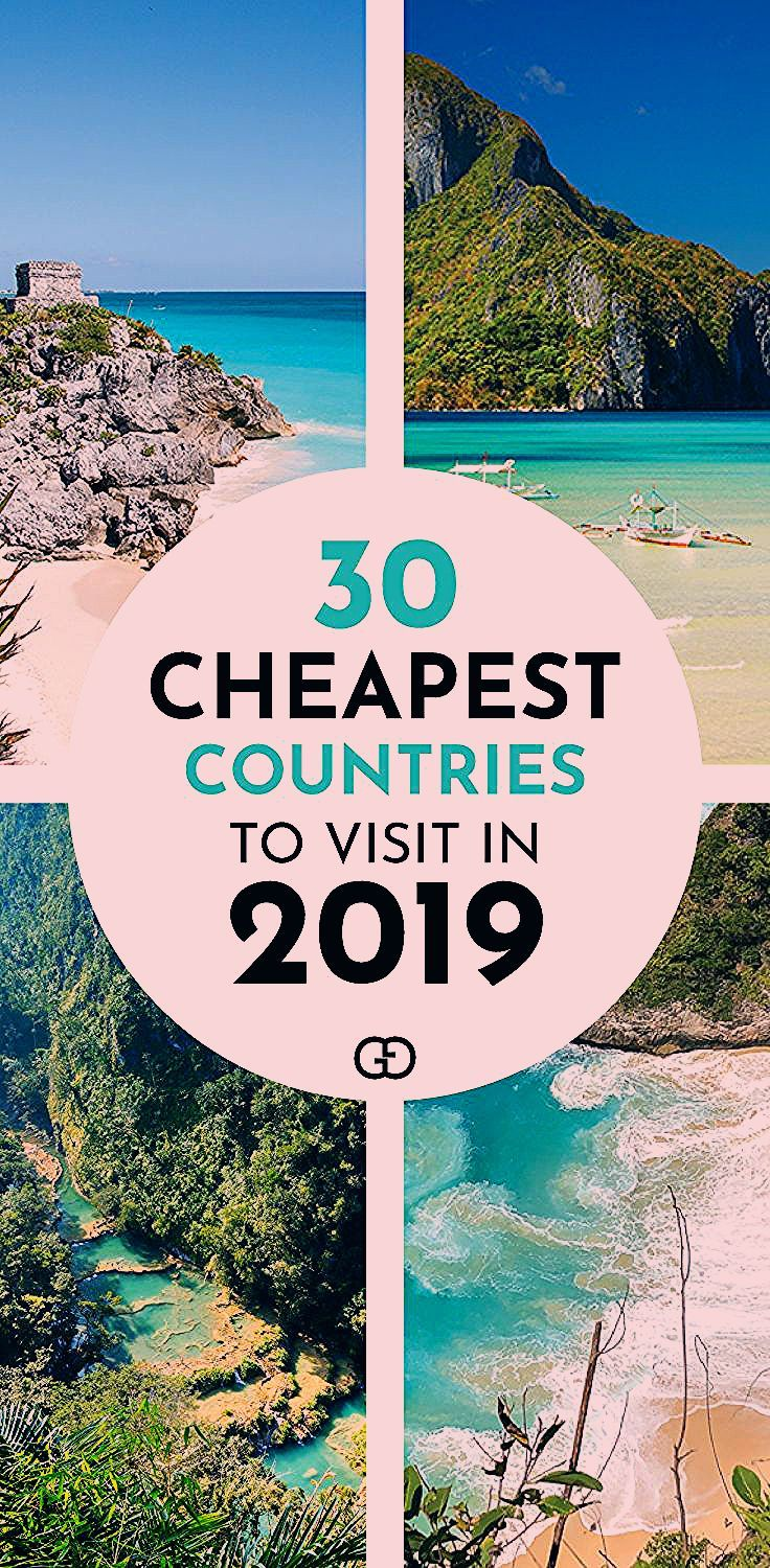 Photo of 30 Cheapest Countries To Visit in 2019