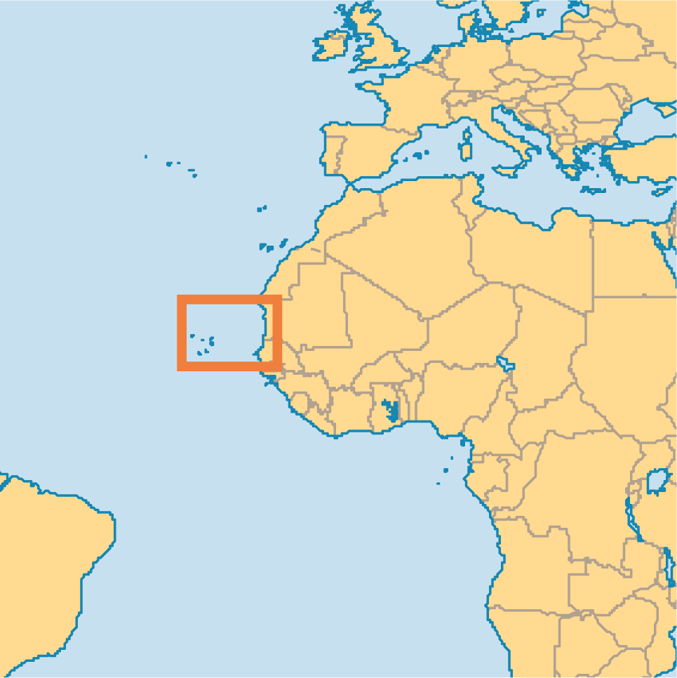 cape verdean pictures | locator map of Cape Verde Islands | My