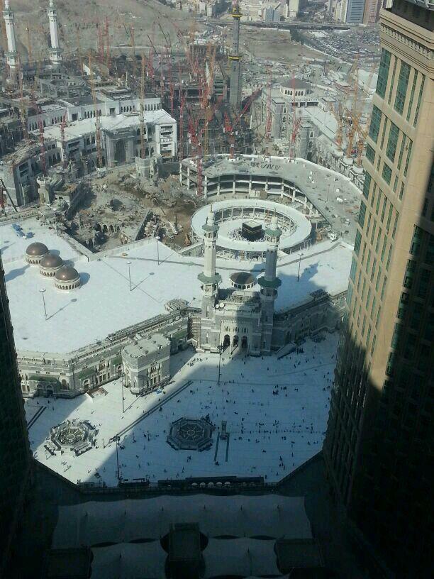 الحرم المكي التوسعة الجديدة في عهد الملك عبدالله